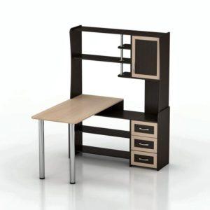 Компьютерный стол Мебелинк 100-24 (рамка МДФ)