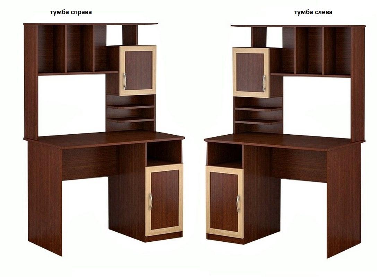 Компьютерный стол Мебелинк 100-10 (рамка МДФ)