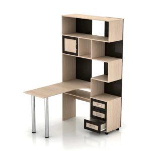 Компьютерный стол Мебелинк 100-01 (рамка МДФ)