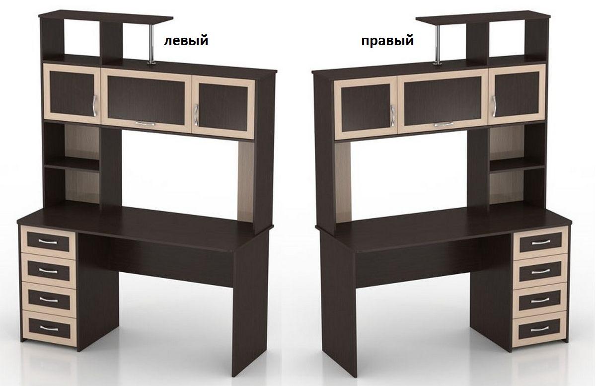 Компьютерный стол Мебелинк 100-15 (рамка МДФ)