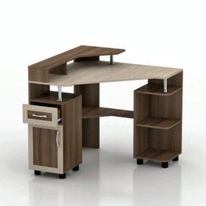 Компьютерный стол Мебелинк 100-02 (рамка МДФ)
