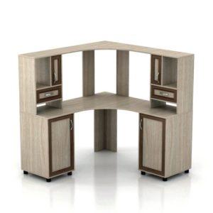 Компьютерный стол Мебелинк 100-03 (рамка МДФ)