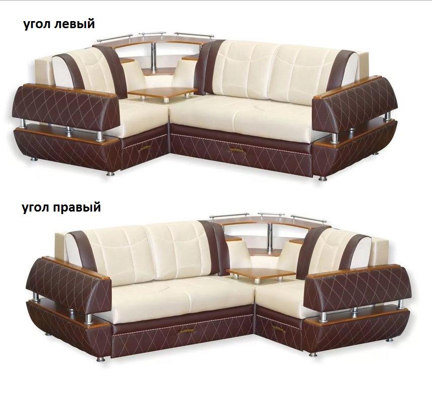 Угловой диван Искандер левый или правый