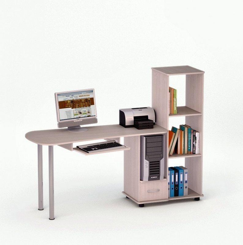 Компьютерный стол роберт-11 купить в интернет магазине недор.