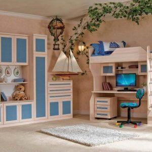 Модульная детская комната Звезда