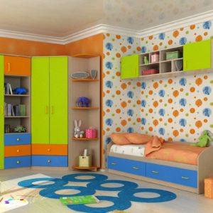 Модульная детская комната Акварель-1