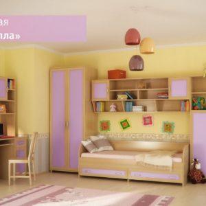 Модульная детская комната Камилла