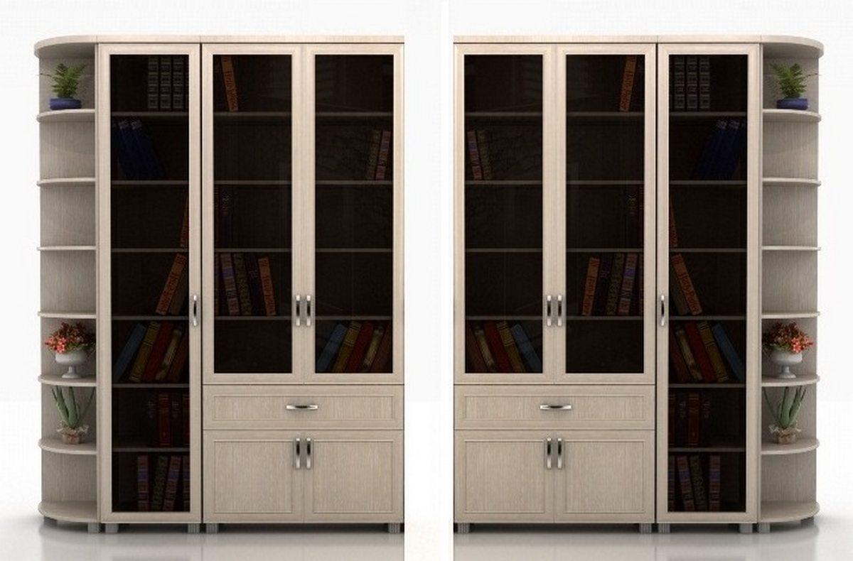 Библиотека Яна-3 угловая колонка слева или справа