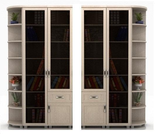 Библиотека Яна-4 угловая колонка слева или справа