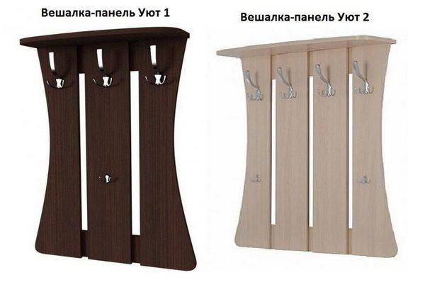 Вешалка-панель Уют 1 или 2