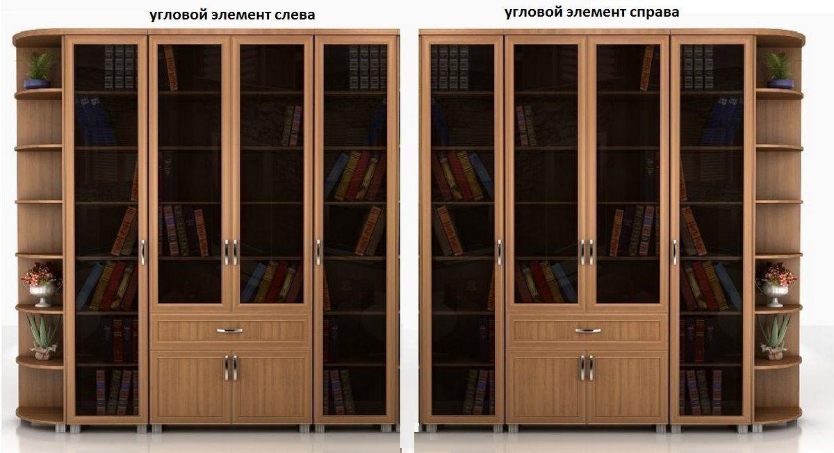 Библиотека Яна-2 угловая колонка слева или справа