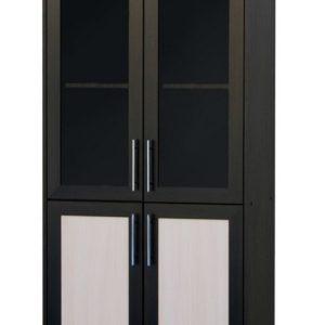 Кухонный напольный шкаф со стеклом Р-7
