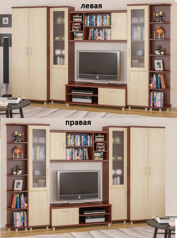 Стенка Омега шкаф слева или справа