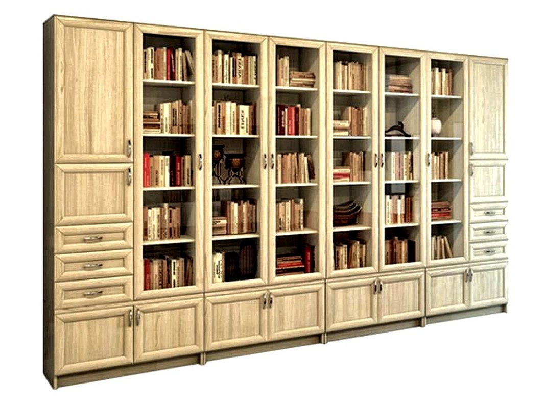 Книжный шкаф-библиотека Гала 7