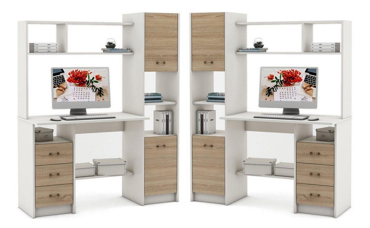 Компьютерный стол Август-2 пенал слева или справа