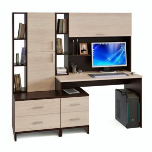 Компьютерный стол КСТ-114+КН-03+СТ-10