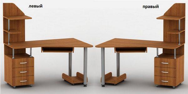 Компьютерный стол Тиса-7 левый или правый
