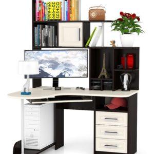 Компьютерные столы с надстройкой