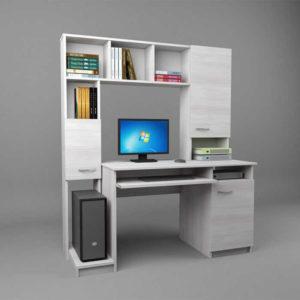 Компьютерный стол белый