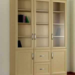 Кухонный напольный шкаф книжный 3№4