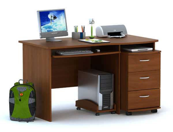 Компьютерный стол ПС 03.01+ТБ 03.02