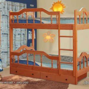 Кровать Диана-3 (2-х ярусная)