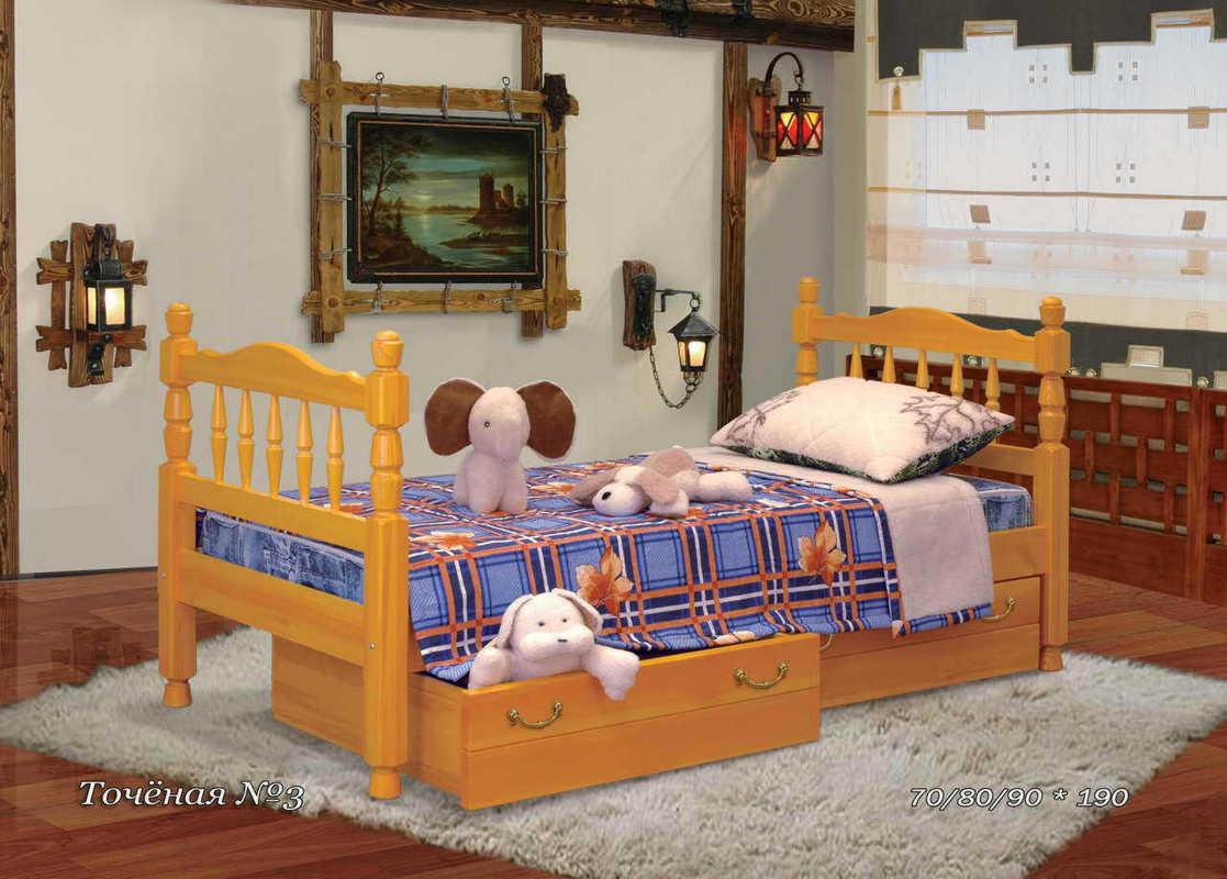 Кровать Точёная №3