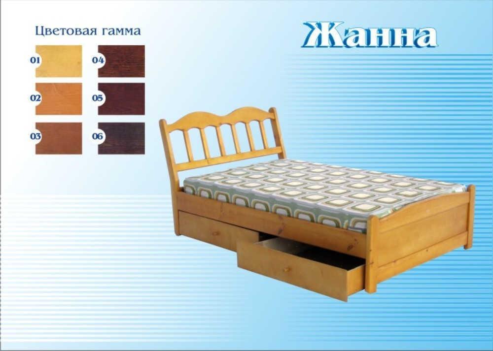 Кровать Жанна (ЕГРА)