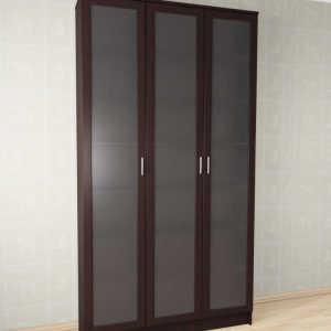 Шкаф библиотека Млайн-5