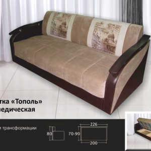 Модульный кушетка Тополь