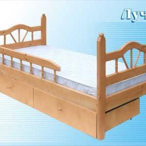 Кровать Луч-1 (детская)