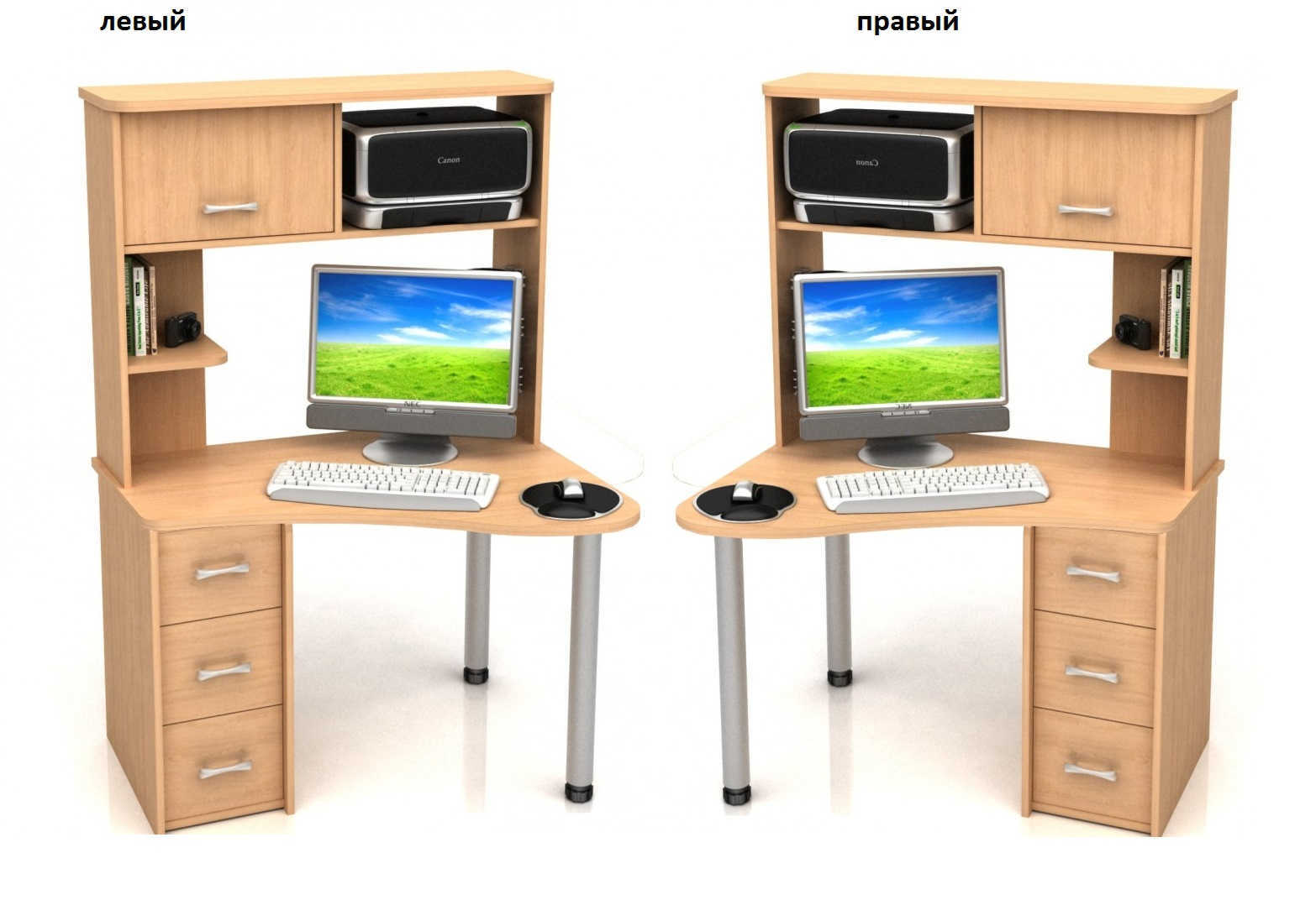 Компьютерный стол Абсолют-13