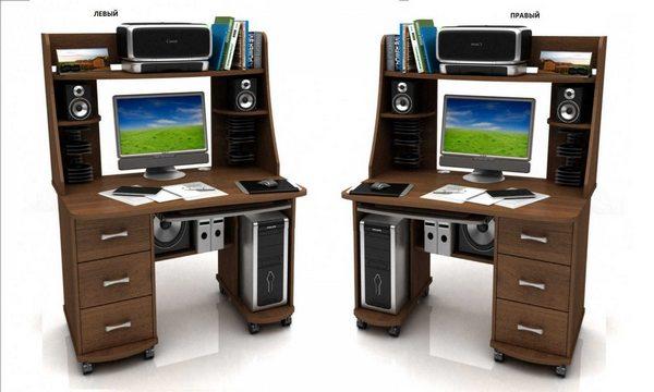 Компьютерный стол Абсолют-4