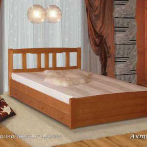 Двуспальная кровать Актиния