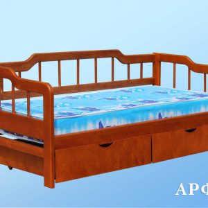 Полуторная кровать Арфа