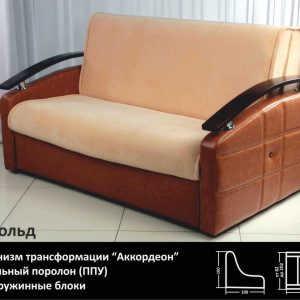 Недорогой диван аккордеон Арнольд