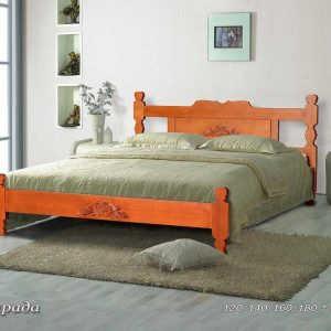 Двуспальная кровать Астрада