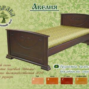 Двуспальная кровать Авелия