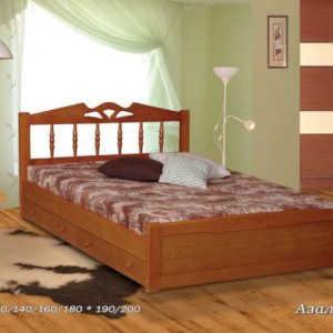 Двуспальная кровать Азалия