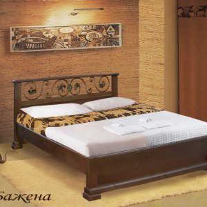 Двуспальная кровать Бажена