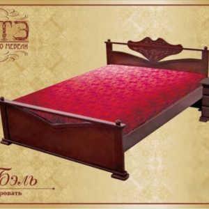 Двуспальная кровать Бель