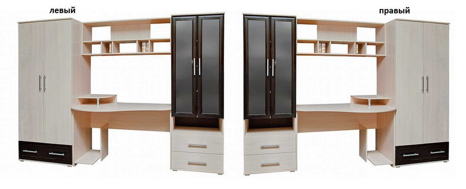 Детская Азарт-2 шкаф слева или справа