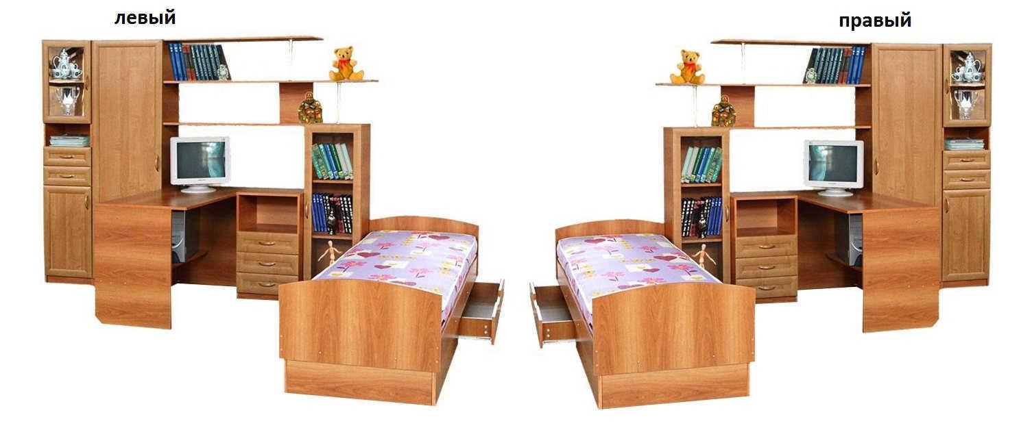 Детская Уголок школьника 2М с кроватью и пеналом