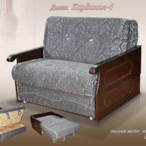 Недорогой диван аккордеон Кардинал-4 ДП