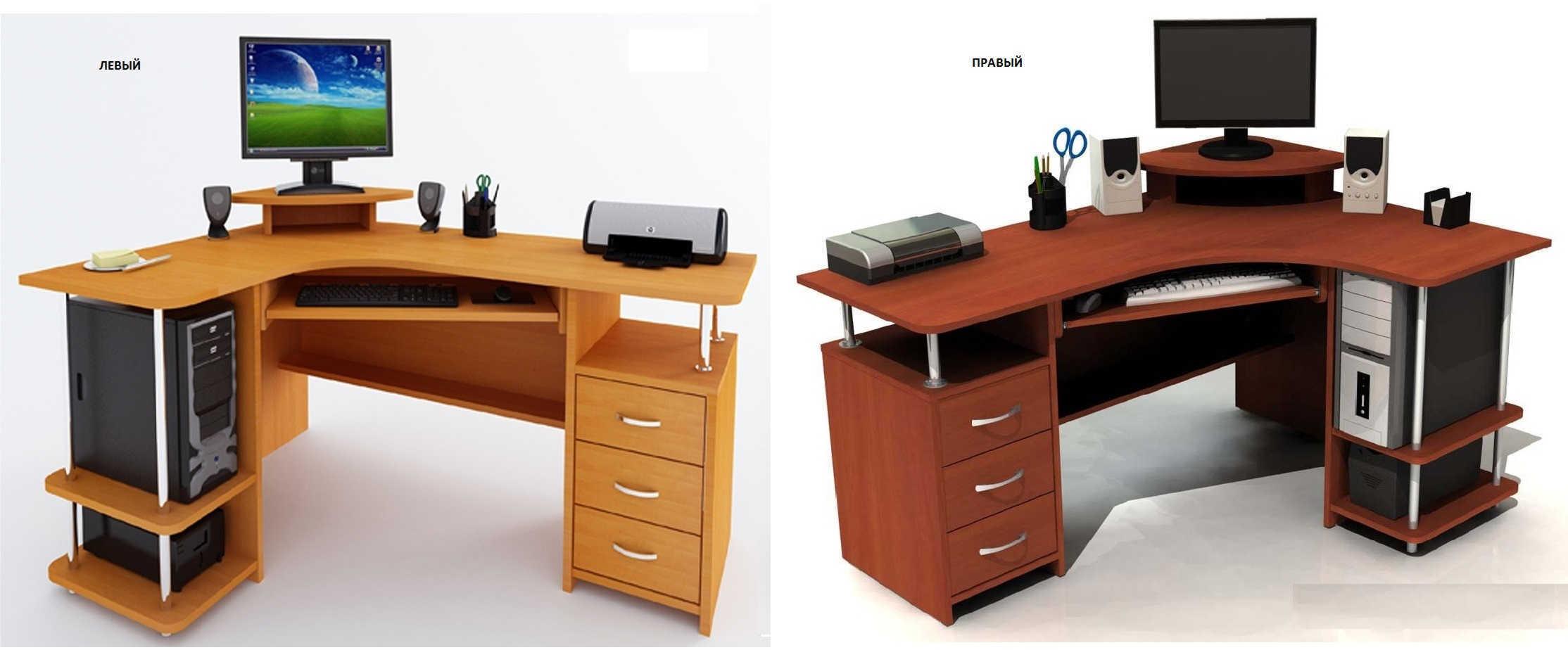 Компьютерный стол Компасс С 224 БН