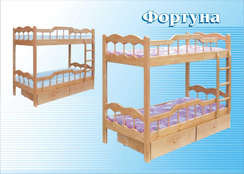 Кровать Фортуна (2-х ярусная)