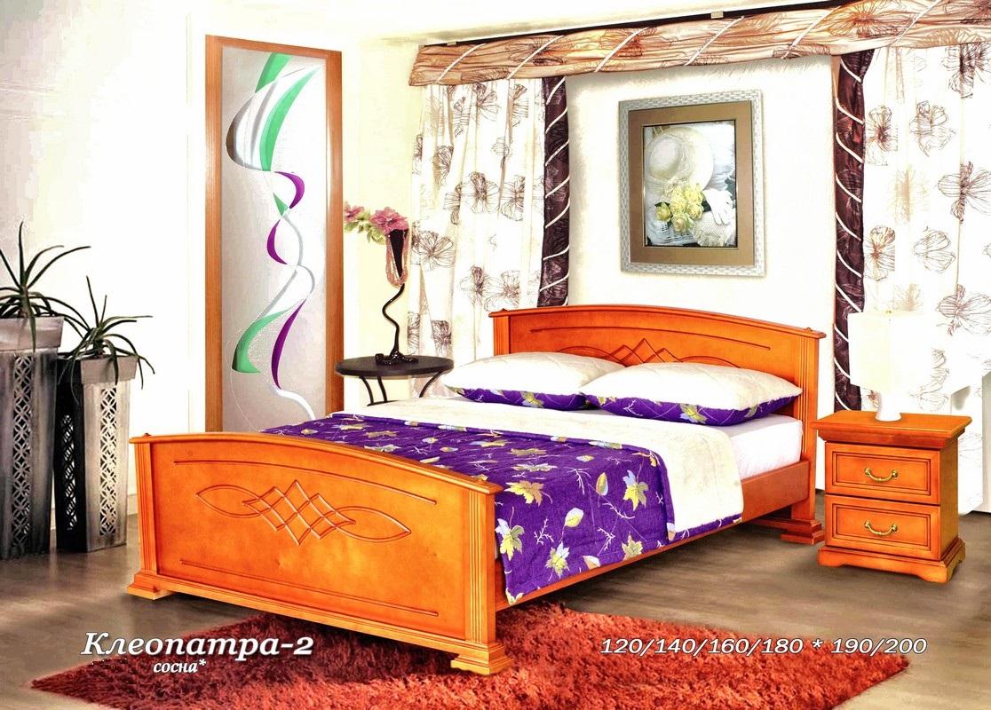 Кровать Клеопатра с высокой спинкой