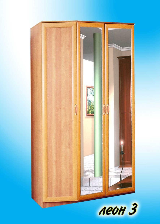 Шкаф леон-3 мдф купить в интернет магазине недорогой мебели .