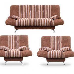Модульный комплект мягкой мебели Лион (4+1+1)