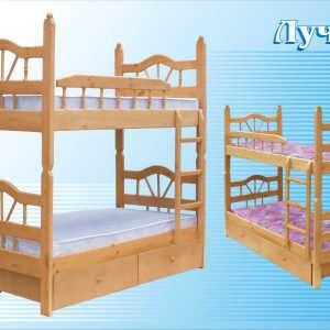 Кровать Луч-2 (2-х ярусная)